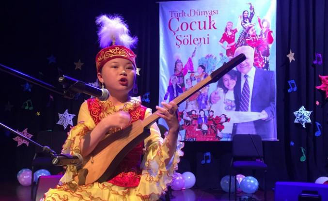 Türk Dünyası Çocukları Şarkılarla Yarıştı