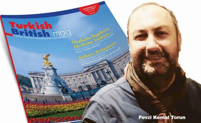 'Turkish British' Dergisi yayın hayatına başladı