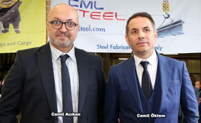 CML Cargo ve CML Steel Londra'da Hizmete Girdi
