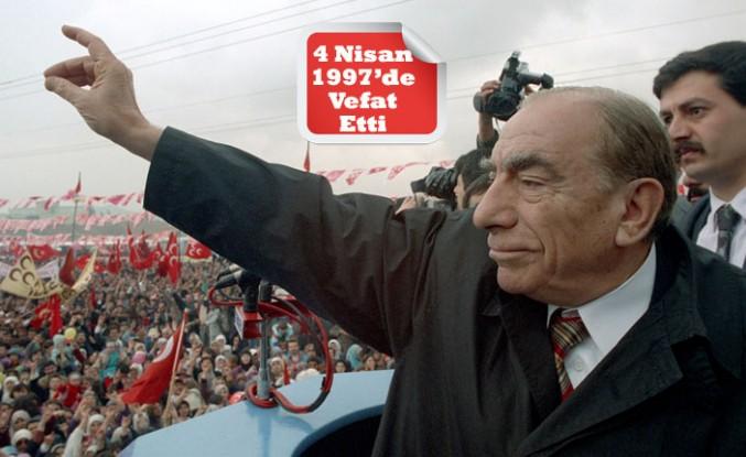 Ülkücü Hareketin Lideri Türkeş'e Vefatının 23. Yılında 'Sessiz Anma'