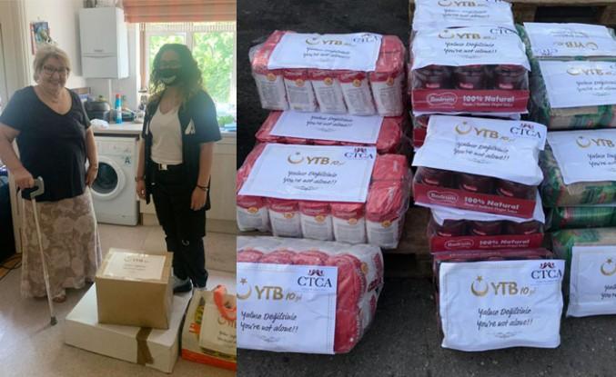 Konsey'in YTB Destekli Yardım Projesi İhtiyaç Sahiplerini Duygulandırdı