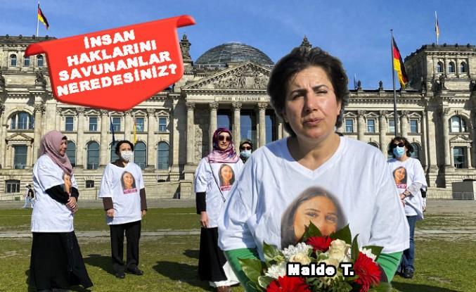 PKK Tarafından Kızı Kaçırılan Maide T'nin Eylemi Sürüyor