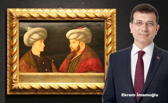 İmamoğlu, Fatih Sultan Mehmet'in Portresine 935 Bin Sterlin Ödedi