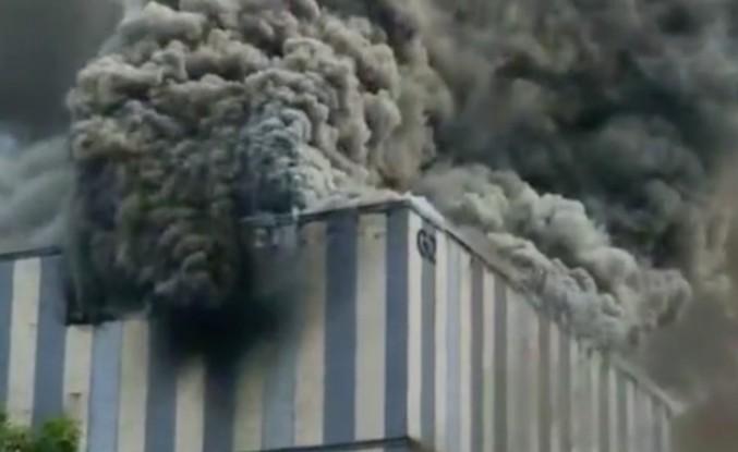 Huawei'nin laboratuvarında büyük yangın