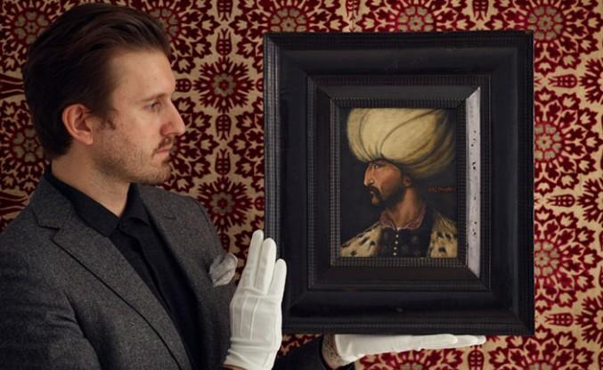 Kanuni Sultan Süleyman'ın Portresi Londra'da Açık Artırmada