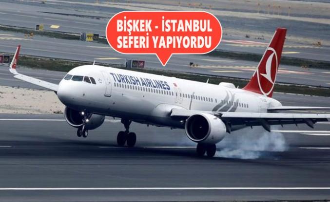 THY Uçağı Ankara'ya Zorunlu İniş Yaptı
