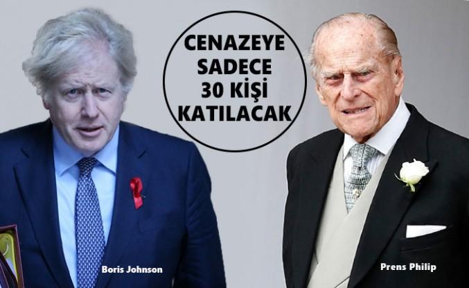 Başbakan Johnson, Prens Philip'in Cenaze Törenine Katılmayacak
