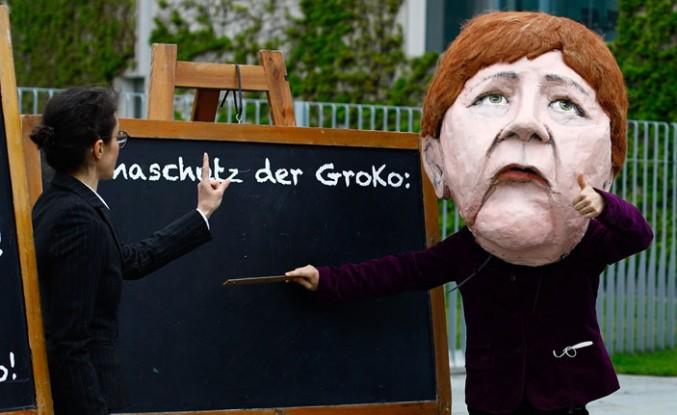 Merkel, 'Çevre' Dersinden Sınıfta Kaldı!