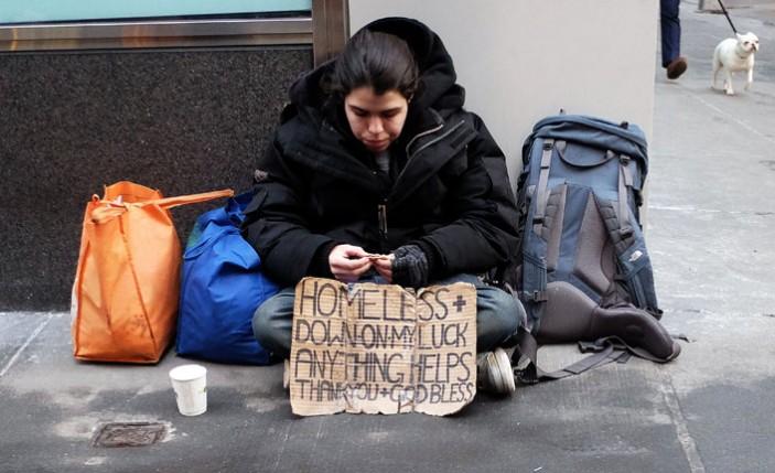 Londra'da evsiz insan sayısı rekor seviyede