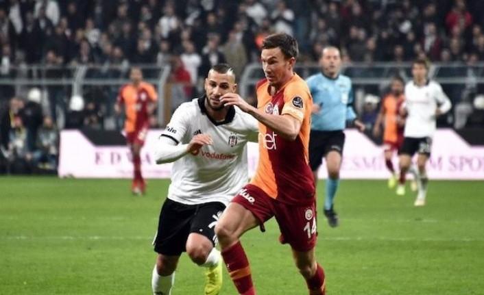 Lider Beşiktaş derbi maçta Galatasaray'ı konuk edecek