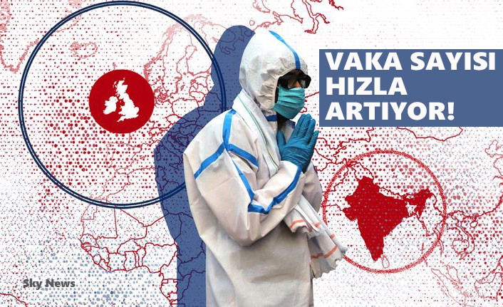 İngiltere'de Hindistan Varyantı Endişesi