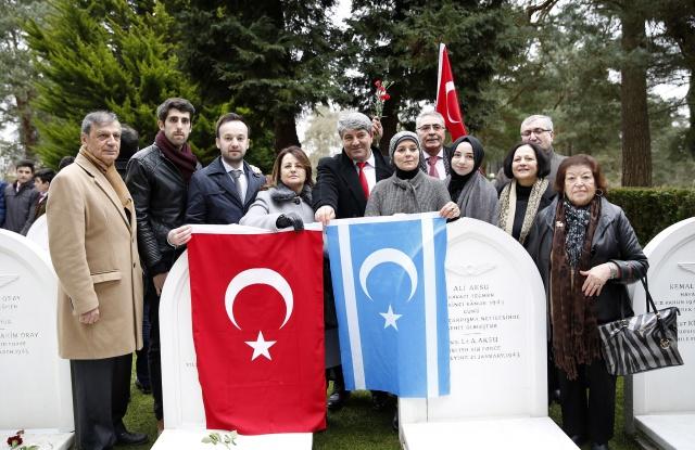 Londra Türk Hava Şehitliği Çanakkale Şehitleri Anma